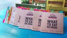 Menu Catalogue for snack bar by elevenzebras