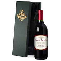 Personalised Bottle of Red Wine in Silk Lined Gift Box: Item number: 3324422355 Currency: GBP Price: GBP21.95