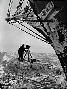 "Frank Hurley, ""Endurance"" expidition photographer"