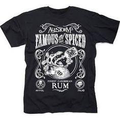 Alestorm Famous 'Ol Spice T Shirt 2X