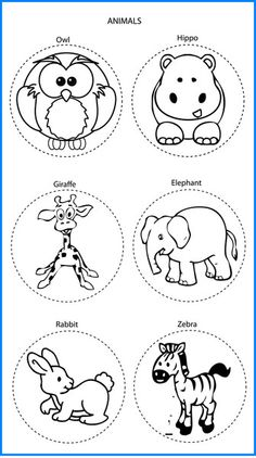 Animals Mixed Designs - Colour In Yourself Badges Zoo Animals, Snoopy, Prints, Badges, Fictional Characters, Color, Templates, Design, Craft