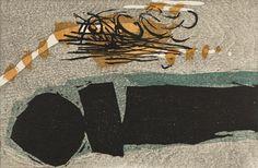 Two Sounds Alternate Title: Futatsu no Oto Uchima Ansei (United States, California, Stockton, 1921-2000) Japan, 20th century Prints; woodcuts Woodblock print Image: 8 1/4 x 12 1/16 in.