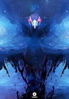 Peacock by Miguel-oliveira.deviantart.com on @deviantART