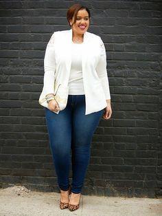 Plus Size Fashion for Women - Inside Allie's World: Winter White