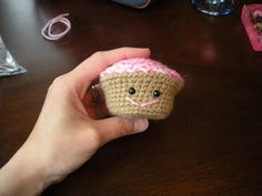 """Welcome to the final installment of the """"Make a Cute Cupcake!"""" amigurumi workshop. I've had a lot of fun doing this and I'm already a-buzz w..."""