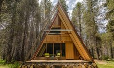 Small Homestead Plans | If you enjoyed this A-frame cabin you'll love our free daily tiny ..