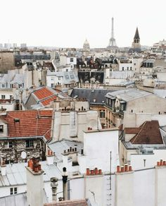 "s-un-rise: "" feelikeadoll: "" Parisian rooftops "" wow, what I would give to have this view right now """
