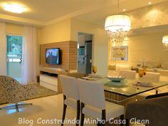 65 Salas de Jantar e Estar Integradas! Veja Dicas e Qual Iluminação Usar!