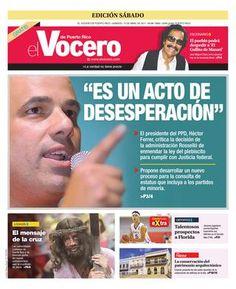 Edición 15 de Abril 2017  El Vocero de Puerto Rico