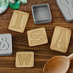 Ransom Demands Cookie Cutters! All 26 letters plus an exclamation point and ampersand. Could do a lot of art, too! But cookies may be better. . .