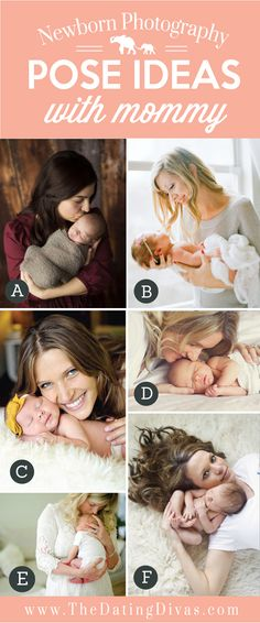 These ideas will help you snap the perfect picture of your newborn with a whole range of pose ideas.