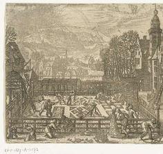 Pieter van der Borcht (I), 1545 - 1608 - March.  Rijksmuseum