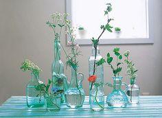 Ideas de floreros con frascos reciclados | Fotos o Imágenes | Portadas para Facebook