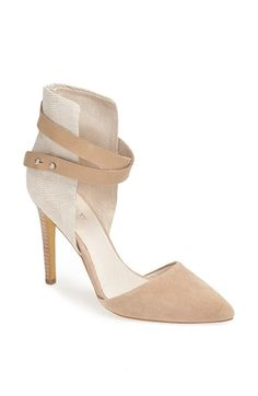 """['Laney' Pump - Joe's @ Nordstrom] Wish these were a 3"""" heel, I'd snap them right up! Love the mixed media."""