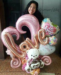 На данном изображении может находиться: 1 человек Balloon Shop, Love Balloon, Balloon Gift, Balloon Garland, Balloon Decorations, Mothers Day Balloons, Valentines Balloons, Birthday Balloons, Ballons