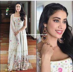 Janhvi Kapoor in Sukriti & Aakriti | Fashionworldhub