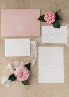 Spring Camellia Wedding Inspiration