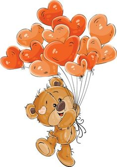 News - Claudette Fyvie - - News -. Image Clipart, Cute Clipart, Tatty Teddy, Cute Images, Cute Pictures, Decoration St Valentin, Image Zen, Lapin Art, Blue Nose Friends