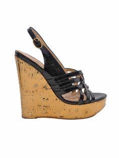 14434785de3 Pre-owned Yves Saint Laurent Idole Platform Wedge Sandals