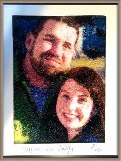Mommy and Daddy by BeadShopp on Etsy, $70.00