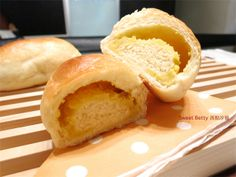 豆漿地瓜捲麵包