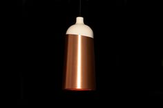 This year at Maison, Berlin born and UK educated Corinna Warm debuted Glaze - a collection of pendant lights made in collaboration with Innermost...