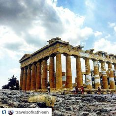 #Repost @travelsofkathleen with @repostapp Get featured by tagging your post with #Talestreet The Parthenon. #acropolis #parthenon #traveleringreece #wanderlust #traveltheworld #liveagreatstory #beautyinruins #travelsofkathleen #travelworld #travelawesome #travels #traveler #travelography #travelous #travelogue #explore #exploreworld #wanderer #wanderlust #wanders #twitter