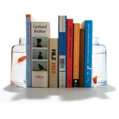 Goldfish Bookends!