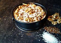 Mini-monchou-walnotentaart, dit recept is helemaal suikervrij en daarbij ook nog eens super lekker!