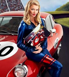 Jodie Kidd - Event Host | Model | UK #Celebrity Hosts & Speakers New Jaguar, Jaguar E Type, Jodie Kidd, Pin Up Car, Car Girls, Vintage Beauty, Persona, Race Cars, Classic Cars