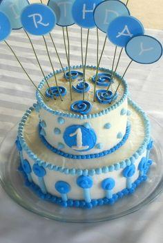 first birthday cake boy - Google Search