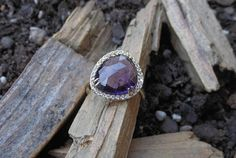 Check out this item in my Etsy shop https://www.etsy.com/listing/265955437/amethyst-ringgold-ringstatement