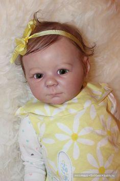 Доброе утро, девочки! Хочу показать вам девочку реборн — Василису. Молд Марли от Энн Тимерман, любимый многими. Работаю с этим