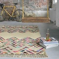 Tika Savana Rugs 79501 by Brink and Campman buy online from the rug seller uk Colorful Rugs, Multicoloured Rugs, Chevron Rugs, Floor Cloth, Stripes Design, Modern Rugs, Soft Furnishings, Bohemian Rug, Ideas