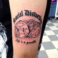... Tattoo - North Hollywood CA United States. Social Distortion Tattoo