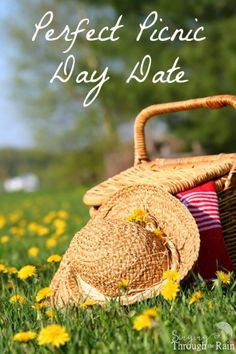 "Sometimes it's the simple things in life that matter the most. While I love doing the ""dinner and a movie"" type of dates, often it's fun to get outdoors and enjoy the sunshine! While a picnic can be kind of a low-key date, it may just be the best thing you do this year to relax, rest, and enjoy time together with your spouse."