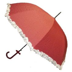 red and white polka dot lace umbrella       Google Image Result for http://www.let-it-rain.com/menubar/99-on-la-femme-red-polka-dot-umbrella-with-white-ruffle.jpg