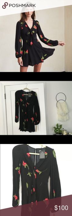 Reformation Rosetta Dress *NWT New with tags Reformation Dress Sold out in stores Reformation Dresses Mini