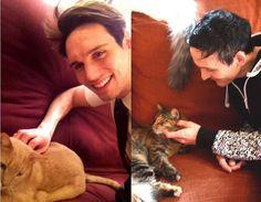 """""""SMAYLOR & THEIR CATS #smaylor #nygmobblepot #robinlordtaylor…"""