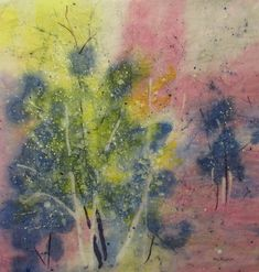 Original abstract landscape painting by MarciaMcKinzieArt on Etsy