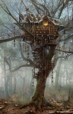 The Witcher Wilde Jagd: Artworks und Renders von der gamescom Fantasy Places, Fantasy World, Dark Fantasy, Fantasy House, Witcher 3 Wild Hunt, The Witcher 3, Witcher Art, Environment Concept, Environment Design