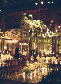 Stunning Romantic Garden Southern Wedding is part of Romantic garden Wedding - Elizbaeth Messina shares this absolutely stunning Southern wedding that's filled with gorgeous florals, romantic candles and the most breathtaking decor Mod Wedding, Garden Wedding, Wedding Table, Wedding Reception, Rustic Wedding, Dream Wedding, Wedding Day, Wedding Favors, Wedding Venues