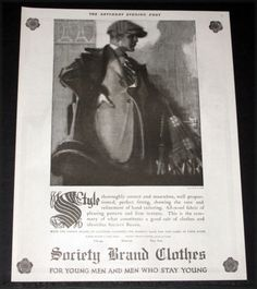 1920-OLD-MAGAZINE-PRINT-AD-SOCIETY-BRAND-CLOTHES-MASCULINE-STYLE-FASHION-ART
