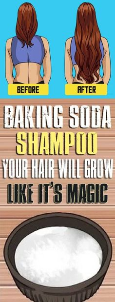 Baking Soda Shampoo It Will Make Your Hair Grow Like It Is Magic! Baking soda, as we all know, has a lot of health and beauty benefits. In fact, this amazing ingredient can help you look your best and feel healthy from head to toe. Baking Soda Shampoo, Baking Soda Hair Growth, Baking Soda Face, Beauty Regimen, Hair Regimen, Strong Hair, Tips Belleza, Shiny Hair, Hair Health