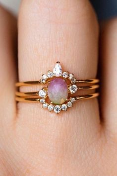 Femmes Bijoux Bague Simple Argent 925 Blanc Opale de feu demande en mariage Sz6-10
