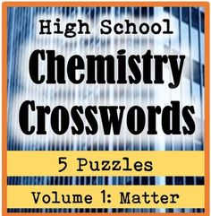 Atoms and the periodic table jeopardy game atomic theory high school chemistry crossword puzzles volume 1 matter urtaz Gallery