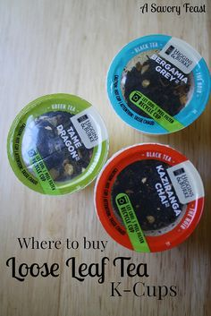 Where to buy loose leaf tea K-cups. If you love a freshly brewed cup of tea, you will love how easy it is to make these in your Keurig!