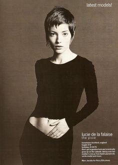 Lucie de La Falaise = I'm in love - H x
