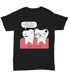 Funny dental gift made especially for dentists, dental hygienists, and students. Great dental humor design if you want to promote great oral hygiene!