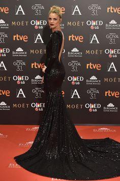 Todos los vestidos de alfombra roja vistos en los Premios Goya 2017
